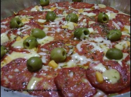 Pizza de Pepperoni   Rosa de Lima