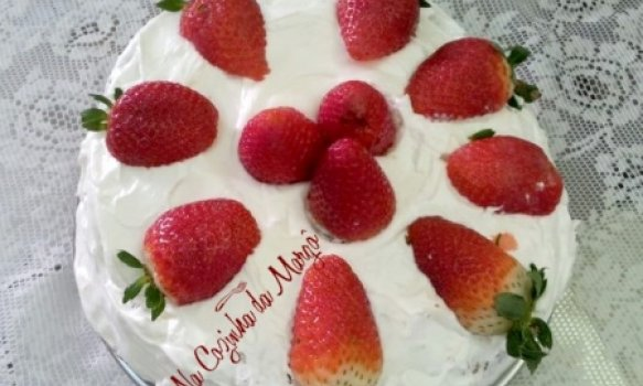 Minha Torta de Morangos