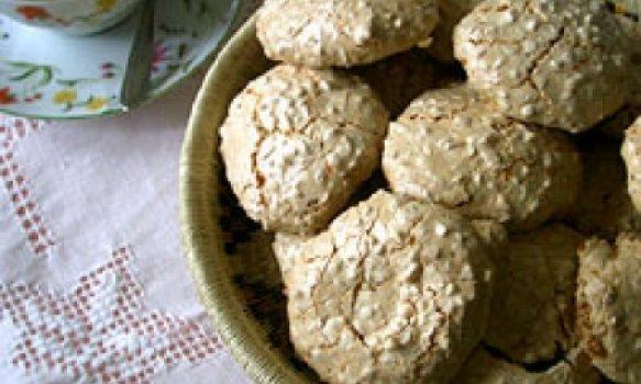 Biscoitinho de Amêndoas (tipo Amaretti)