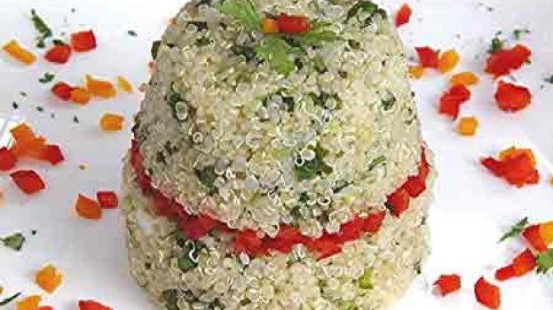 Salada com Quinua