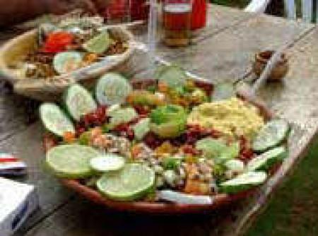 Carne Seca com Feijão Verde