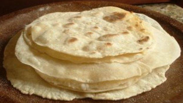 Tortilhas de farinha de trigo