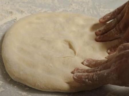 Massa de Pizza para Forno a Gás   Raquel Mendes Alves Pereira