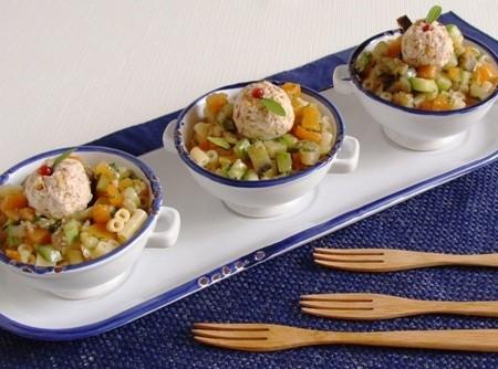 Nessas férias, seja prático com saúde e prepare o macarrão com mix de vegetais da Abima
