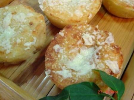 Suflezinhos de batata e gorgonzola