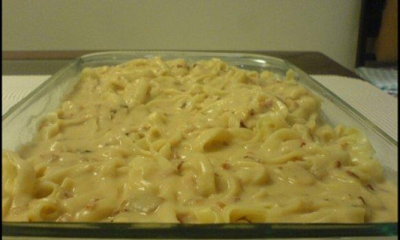 Espaguete ao Molho de Feijão
