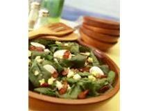 Salada de Folhas com Mussarela de Búfala | Luiz Lapetina