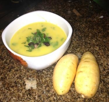 Sopa Creme de Batata Baroa | Rafael Ribeiro