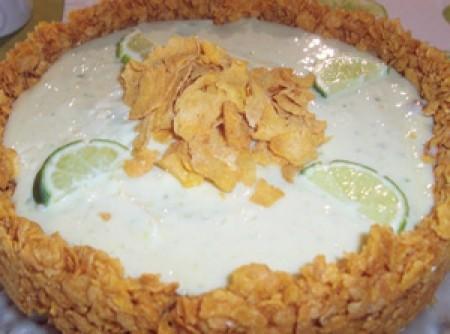 Torta de Limão Verão Gelada