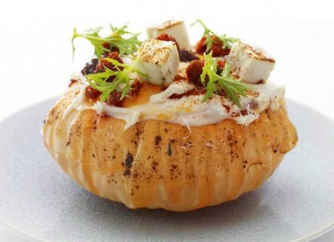 Arroz de Abóbora, Tofu e Tomates Secos | Rejane Laurindo