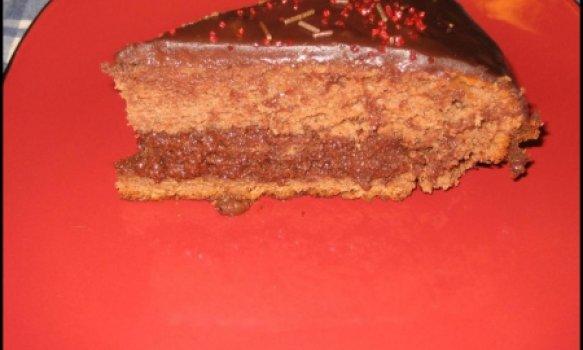Bolo Mousse de Chocolate