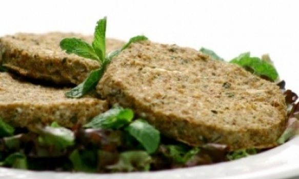 hamburguer vegetariano - com carne de soja