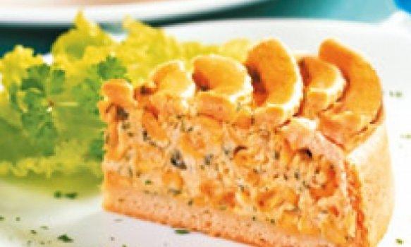 Torta de creme de milho verde