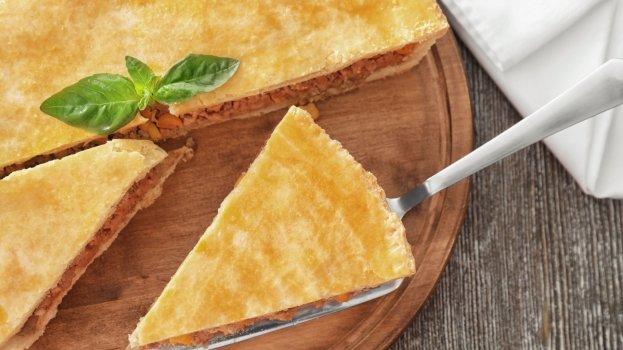 Torta de Milho Verde, Cenoura e Agrião light