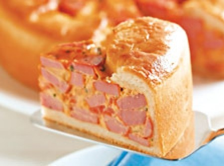 Torta de Salsicha com Cream Cheese