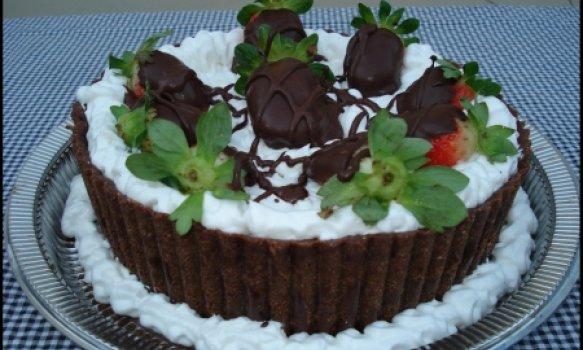 Torta Mouse de Chocolate