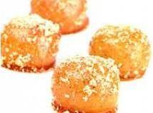 Docinhos de nozes caramelizados