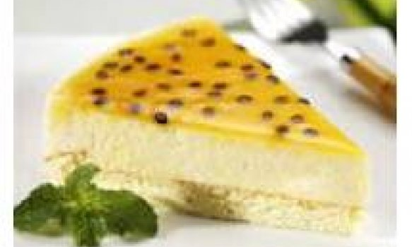 Torta mousse de maracujá light fácil