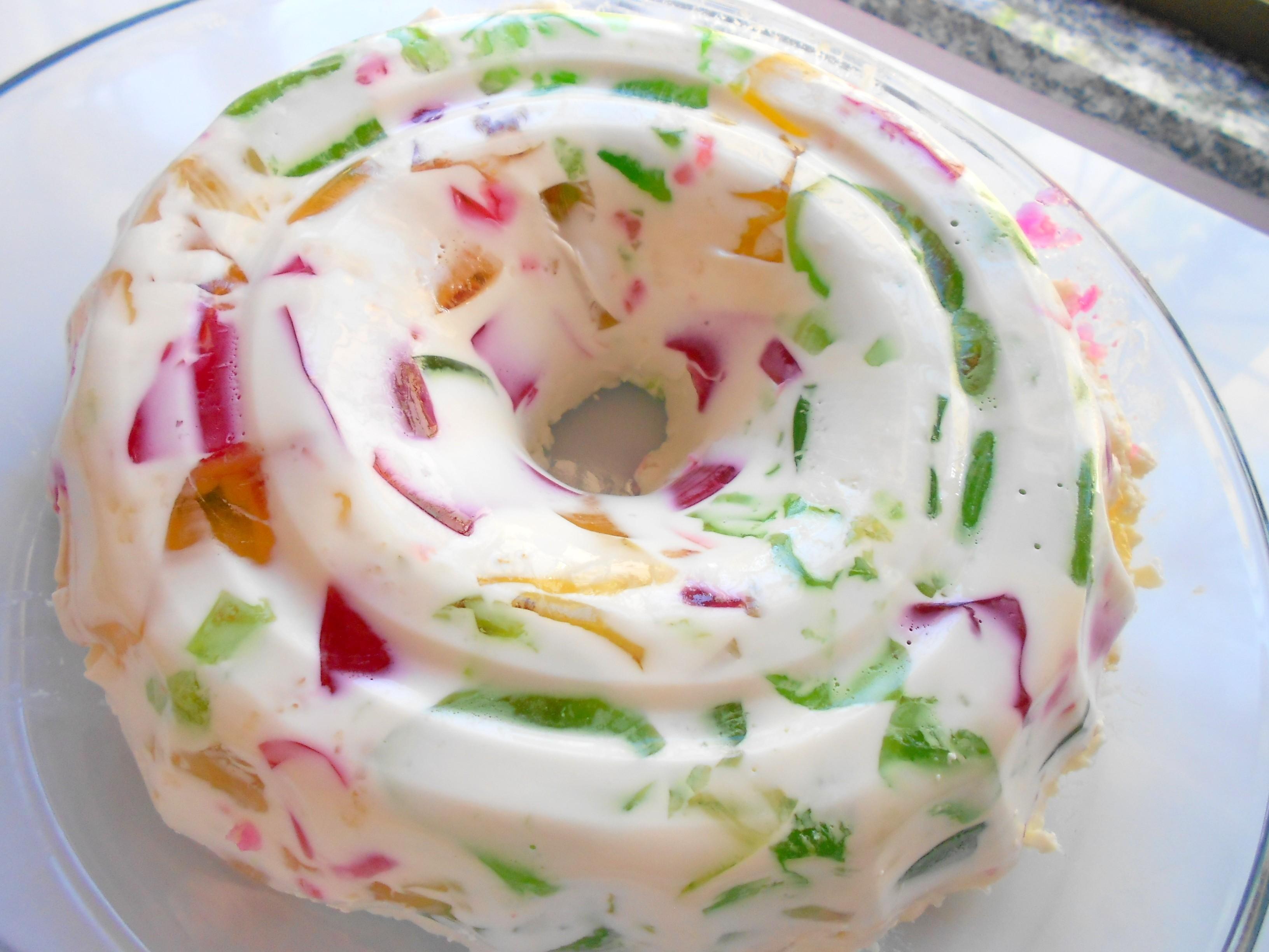 how to make gelatina mosaico