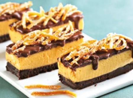Torta de Chocolate e Maracujá