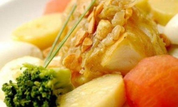 Bacalhau ao forno é feita com batatas e azeite