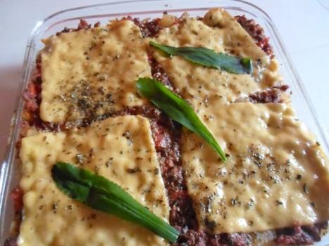 Macarrão de Forno com Carne Moída | jose raimundo oliveira goncalves