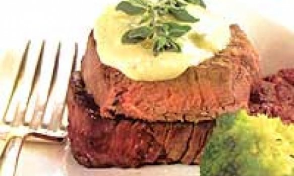 file mignon ao molho de gorgonzola
