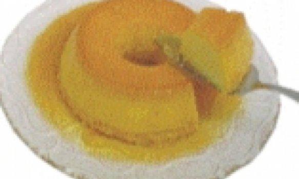 Pudim de milho verde com Leite Condensado