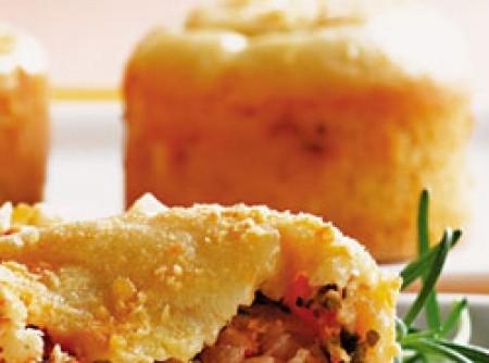 Tortinha de camarão | Laíla Butignon Rodrigues