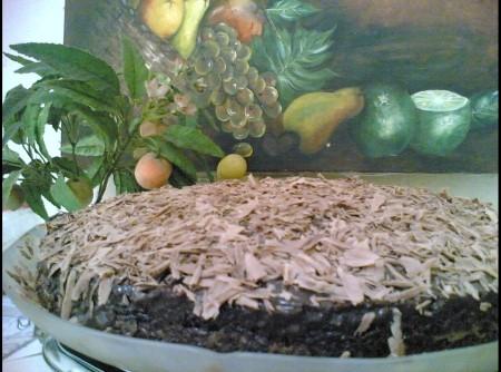 Bolo Tirolês de Chocolate MarcileneFerlin