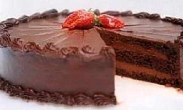 Bolo de Chocolate com Cobertura Especial