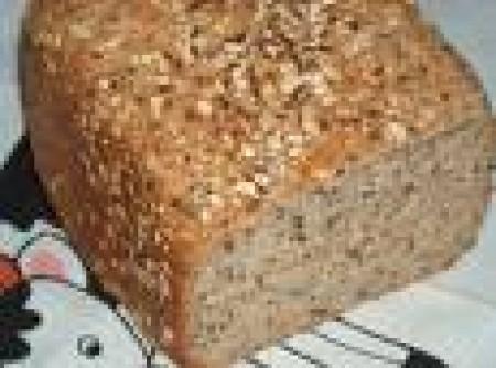 Pão Rápido de Linhaça Feito no Liquidificador