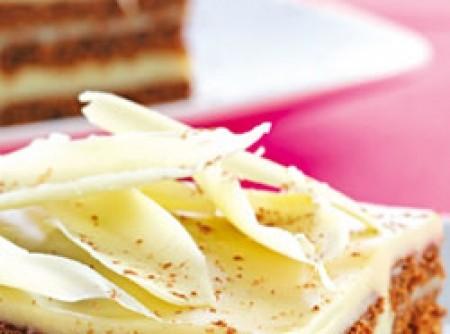 Pavê Fácil de Chocolate Branco | Maria do Carmo Aragão