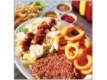 Picanha burger com salada Roller