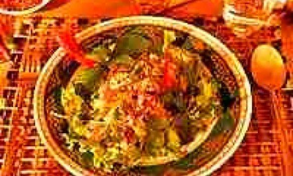 Salada de Frango à Tailandesa