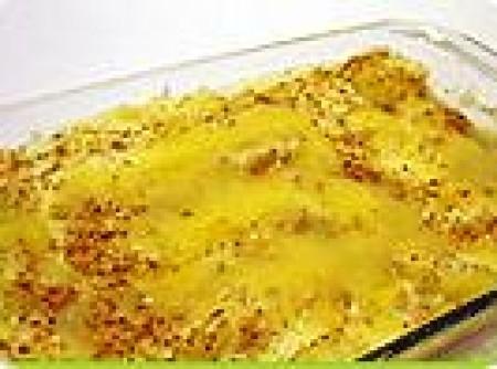 Batata com Bacalhau gratinado | Marcia Chigança