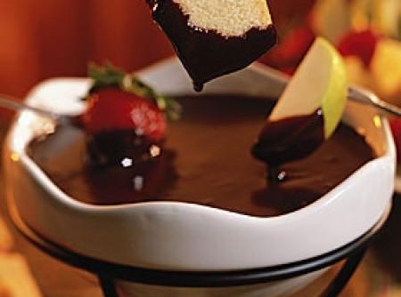 Fondue de Chocolate com Mel