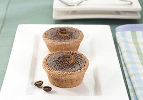 Minitortas de Chocolate e Café