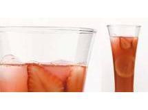 Suco de Morango com Limão