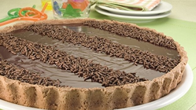 Torta Aveludada de Chocolate