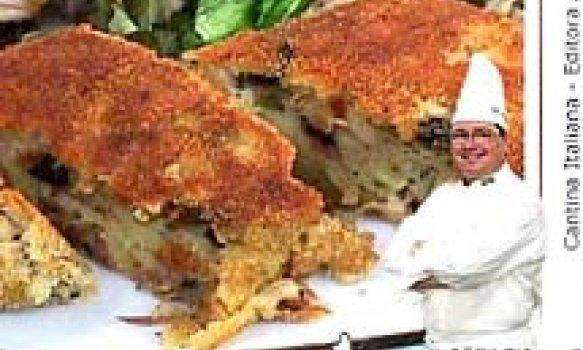 Bolo de Atum com Batatas