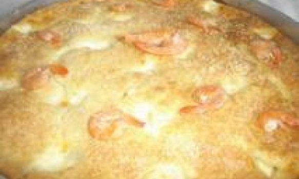 TORTA DE CAMARÃO (liquidificada)