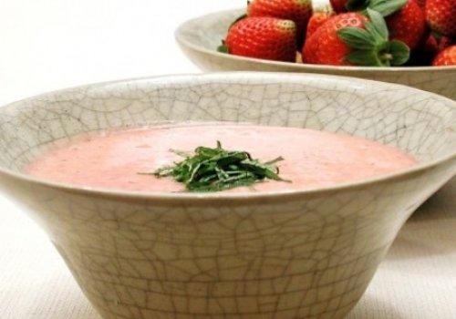 Sopa de morango