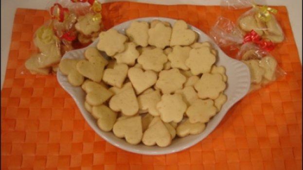 Biscoito com Raspa de Limão