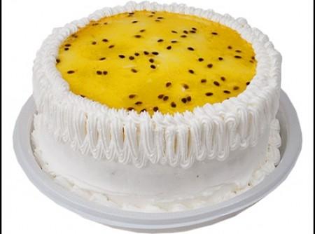 torta de chocolate com mousse de maracujá