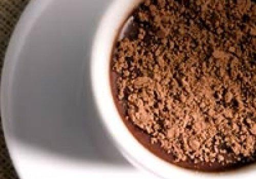 Chocolate quente com amêndoas