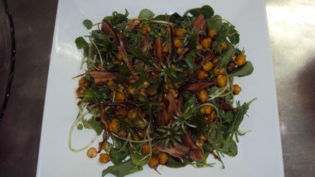 Salada Colorida com Leques de Cebolinha