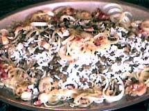 Arroz com Lentilhas e Bacon