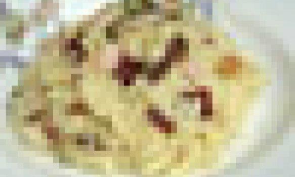 Risoto de Tomate Seco com Camarão