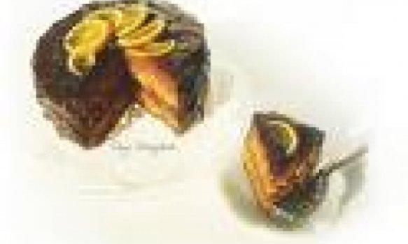 Torta de Chocolate e Laranja By K&M